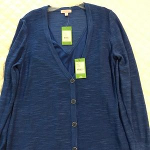 2 pieces NWT Lilly Pulitzer sweater and tank